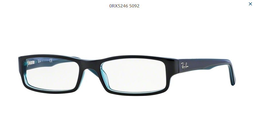 ffc5cd456 Dioptrické okuliare Ray-ban RB5246 c.5092 | OPTIGEMINI