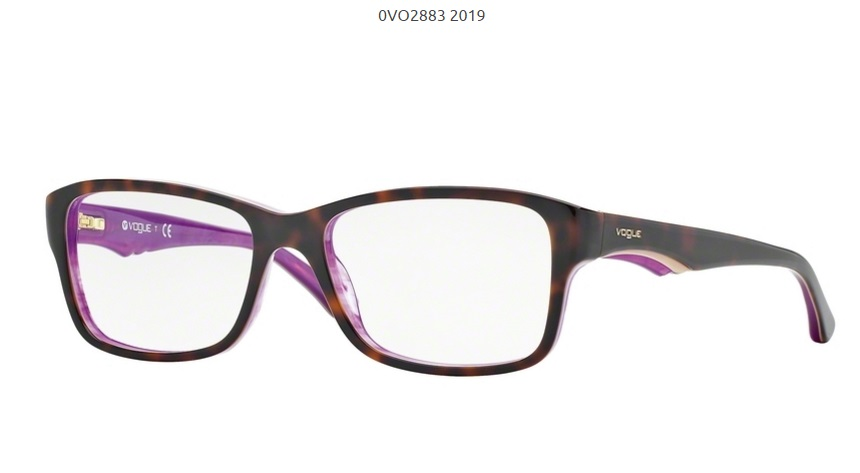 ed802c792 Dioptrické okuliare VOGUE VO2883 c.2019 | OPTIGEMINI