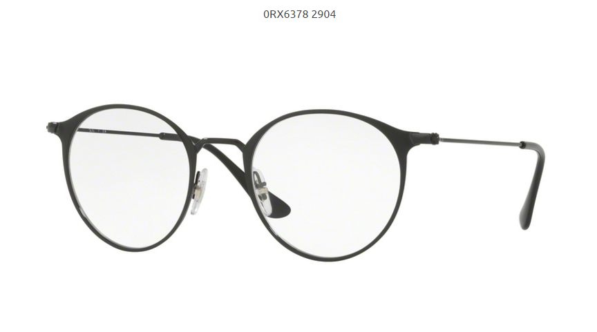Dioptrické okuliare Ray-ban RX6378 c.2904 empty 77bcf56a14d