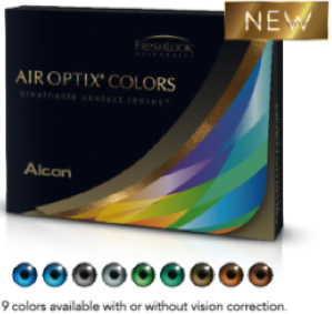 AIR OPTIX® COLORS krycie (2 ks)