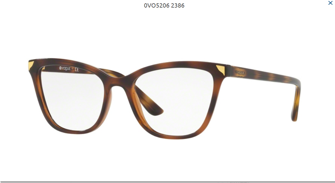 Slnečné okuliare VOGUE VO5206 c.2386 empty eadaa68e5e2