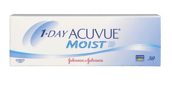 1•DAY ACUVUE MOIST 30ks